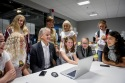 "OSLO - NORWAY - 10.08.2017 -- Jonas Gahr Støre, leder av Arbeiderpartiet besøker Tech summer-camp. -- PHOTO: GORM K. GAARE / EUP-BERLIN.COM This image is delivered according to the terms set out in ""Terms - Prices & Terms"" on www.eup-berlin.com"